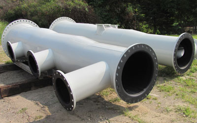 Corrosive Chemical Pipe Photo